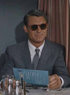 Carey Grant - North by Northwest / All of Landau's suits for the film were made by Grant's personal tailor.
