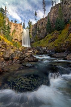 Between The Lines Tumalo Falls Central Oregon Skyler Hughes Photography