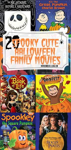 20 Spooky Cute Halloween Movies