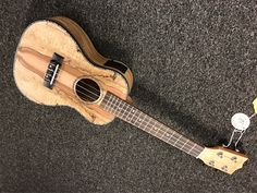 Beautiful spalted maple acoustic electric ukulele with onboard tuner $169 Guitar Store, Spalted Maple, Ukulele, Acoustic, Electric, Music Instruments, Shopping, Beautiful, Musical Instruments