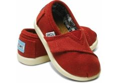 Shop TOMS Kids Shoes for boys and girls shoes in youth & toddler sizes. With every pair you purchase, TOMS will give a pair of new shoes to a child in need. Tiny Toms, Red Toms, Hipster Babies, Toms Classic, Living At Home, Kid Styles, New Shoes, Just In Case, Kids Fashion