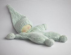 Waldorf knitted  doll for small babies  pdf knitting by deniza17, $5.00