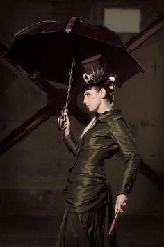 Miss Alexia Tarabotti . . . my favorite steampunk literary heroine of the Parasol Protectorate