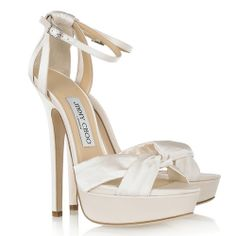 6b272c11baec Jimmy Choo Bridal Shoes Fairy Ivory Satin Satin Shoes