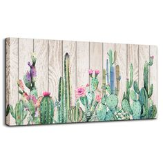 Canvas Wall Art Simple Life Green Cactus Desert Plant Painting Wall Art Decor to. - Home Decor - Canvas Wall Art Simple Life Green Cactus Desert Plant Painting Wall Art Decor to - Cactus Painting, Cactus Wall Art, Plant Painting, Green Cactus, Cactus Cactus, Cactus Photography, Wall Canvas, Wall Art Decor, Watercolor Paintings