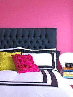 Яркие спальни: 20 красочных спальных комнат, в которых живет настроение!