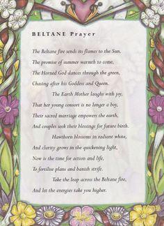 Beltaine:  #Beltane Prayer.