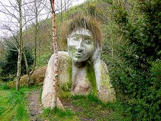 Mud Maiden, Eden Project, UK