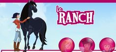Actualité télévision cheval & équitation : Découvrez la chanson de la nouvelle série «Le Ranch» sur TFou.fr Le Ranch, Horse, Children