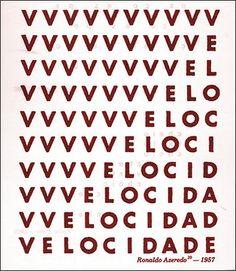 'Velocidade', de Ronaldo Azeredo (1957).