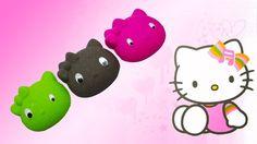 DIY How To Make Colors Kinetic Sand Hello Kitty Learn Colors Kinetic Sand