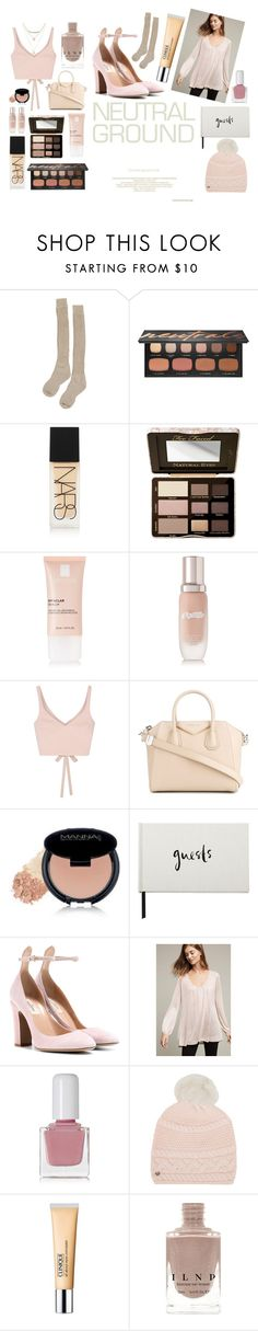 """""""New Set!!!"""" by hannahbates11 ❤ liked on Polyvore featuring Samantha Holmes, Bare Escentuals, NARS Cosmetics, Too Faced Cosmetics, La Roche-Posay, La Mer, Elizabeth and James, Givenchy, Manna Kadar Cosmetics and Kate Spade"""