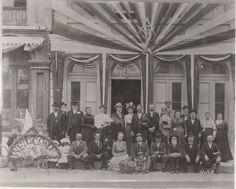 San Bernardino California Masonic history _ San Bernardino Masonic Lodge on D St. between fourth and third Street A.D.1870s