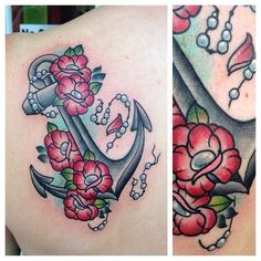 Totally love this. Different from all the other anchor tattoos. So feminine and beautiful but still artistic!