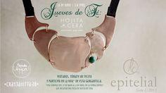 #JuevesdeTé 6 de Junio: Hojita de cera ueppadisegno.com Tote Bag, Bags, May 27, Wax, Chokers, Leaves, Tent, Sculptures, Handbags