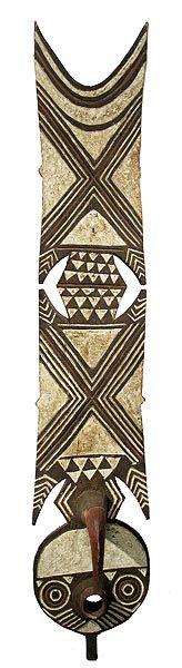Bwa Plank Mask - Burkina Faso