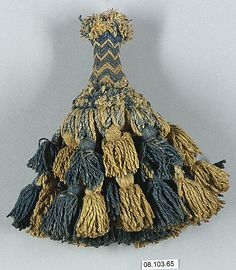 vindication! a 16th c. French tassel made of cotton.