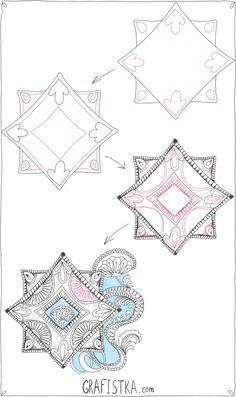 Awesome #Zentangle Patterns