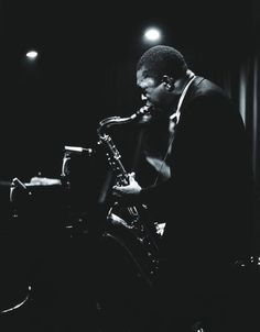 John Coltrane, The Jazz Workshop, Boston, MA 1963 // Photo by Lee Tanner //