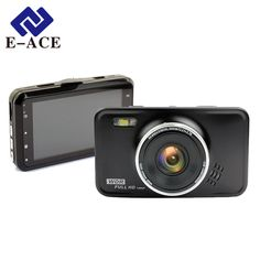 E-ACE 미니 자동차 Dvr 카메라 풀 HD 1080 마력 비디오 레코더 Novatek 96223 Led 손전등 야간 휴대용 자동차 캠코더