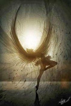 El ángel del miedo..