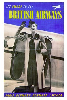 British Airways - Paris, Germany, Denmark, Sweden #travel #alookat #airlines