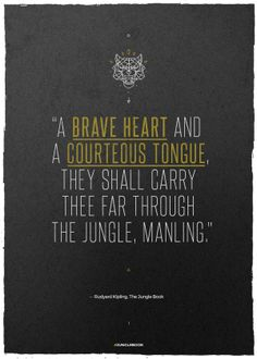 18 Best The Jungle Book Quotes Images The Jungle Book Jungles