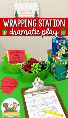 Preschool Christmas, Noel Christmas, Christmas Activities, Preschool Crafts, Preschool Centers, Preschool Ideas, Teaching Ideas, Christmas Decor, Christmas Ideas