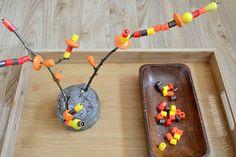 Beaded autumn tree (invitation to create).