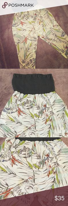 Anthropologie (Lilka): Smocked Palm Romper This strapless romper will have you feeling like a tropical princess.  Made with 100% cotton/linen. It is breezy and a bit see through.  Perfect as resort wear, swim cover up and lounge wear! Anthropologie Other