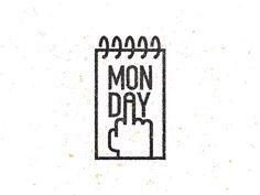 dribbblepopular: Monday Original: http://ift.tt/1lsor2Q
