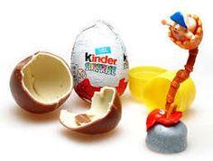Resultado de imagen para chocolate egg kinder surprise