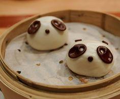 Panda dumplings