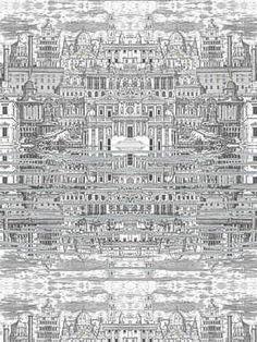 Cole & Son's Riflesso – White Wallpaper - Price Per Yard: $214.50 #interiors #decor #design
