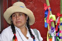 Mujer de Sihuas (Áncash) en un día de fiesta.