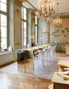 One of the offices at Van Cleef & Arpels!