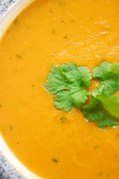 Healthy Carrot and Coriander Soup Recipe - Tastefully Vikkie