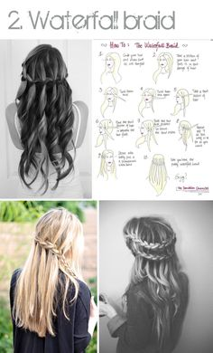 Just Daily Things: Top 4 hair dos: braids, buns & ponytails + how to do it yourself!
