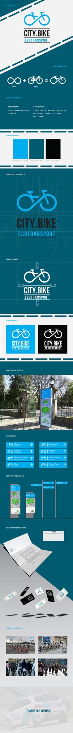 CITY.BIKE on Behance