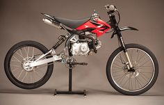 Motoped Motorized Bike Conversion. The perfect cross between a motorcycle and…