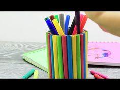 DIY PT ȘCOALĂ 22 IDEI CU TOTUL GENIALE PENTRU ȘCOALĂ - YouTube Office Supplies, Youtube, Instagram, Youtube Movies