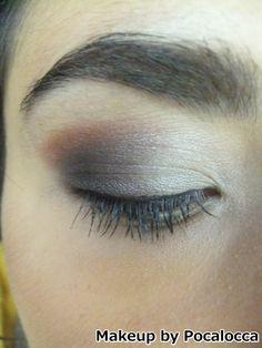 Grey and orange/brown