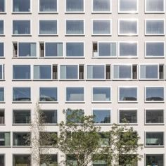Bethanien is a minimal architecture project located in Zurich, Switzerland, designed by Luigi Snozzi, Minimal Architecture, Minimalism, Multi Story Building, Public, Projects, House, Image, Design