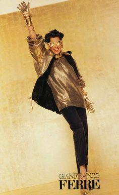 catalogue fw - ph g barbieri Versace, Gianfranco Ferre, Ferrat, Retro Vintage, Vintage Style, 1990s, Editorial Fashion, Supermodels, High Fashion