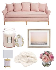 """""""Untitled #76"""" by welaya-ali ❤ liked on Polyvore featuring interior, interiors, interior design, home, home decor, interior decorating, Voluspa, Urban Outfitters, Dot & Bo and Diane James"""