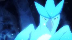Gorgeous Articuno- I like its face at the beginning of the gif