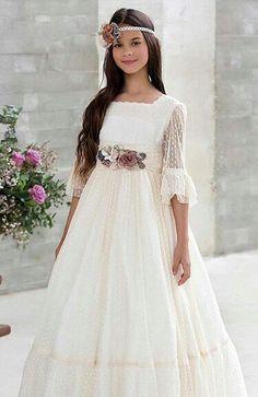 Girls First Communion Dresses, Holy Communion Dresses, Baptism Dress, Christening Gowns, Birthday Dresses, Blush Flower Girl Dresses, Little Girl Dresses, Girls Dresses, Mint Dress