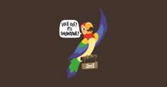 Jose - The Enchanted Tiki Room by mousemagicdesigns