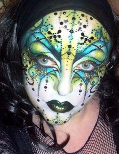 Venetian Mask by *BeccyBex on deviantART