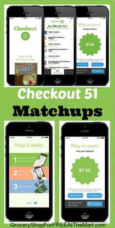 Checkout 51 Matchups are up.  We've got FREE Bananas and fruit snacks and great deals on tomatoes, Aveeno products and more!